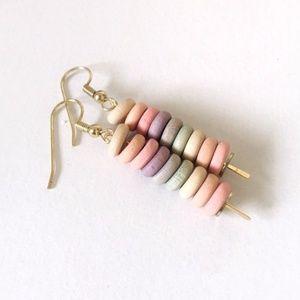 4/$15 Pastel Dangly Earrings